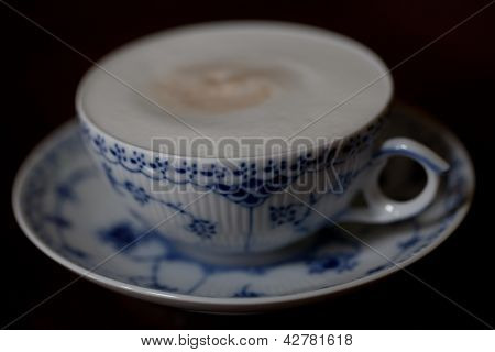 Frothy Cappuccino in Delicate Cup - 2