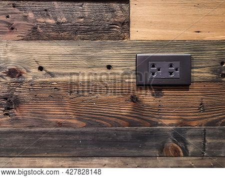 Old Brown Vintage Wooden Planks Wall Vintage Texture Abstract For Background For Design And Decorati
