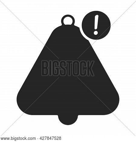 Bell Notification Vector Icon.black Vector Icon Isolated On White Background Bell Notification.
