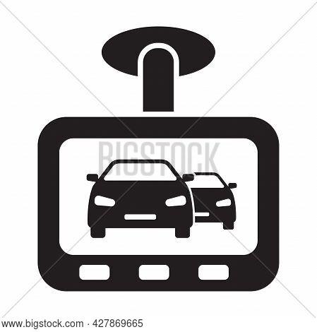 Drive Recorder, Dvr Icon Vector Car Dash Cam Sign For Graphic Design, Logo, Web Site, Social Media,