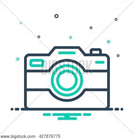 Mix Icon For Camera Pictures Image Photography Digital Technology Focus  Application Electronics Pic