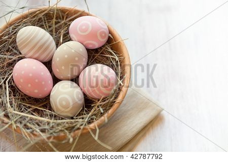 Decorated Easter's Eggs