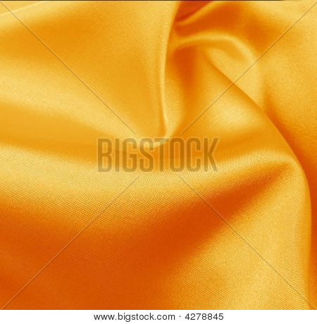 Silk golden drapery background for cover and other design poster