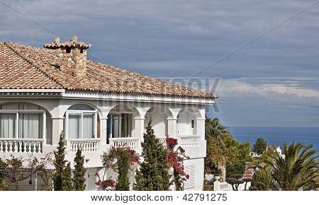 Spanish luxury villas.