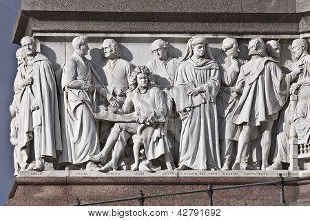 Prince Albert  monument.