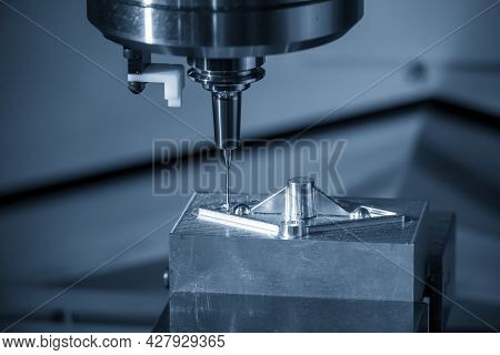 The Hi-precision Mold And Die Manufacturing Concept By Machining Center. The  Cnc  Milling Machine C
