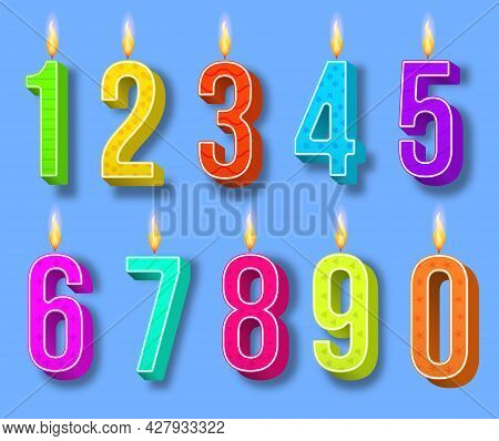 Candle Number For Celebration Cake Birthday, Party