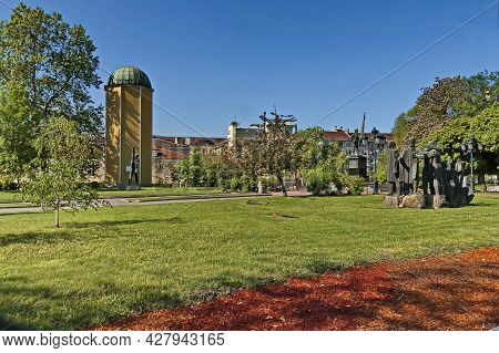 Sofia, Bulgaria -  May 06,  2012:  The Main Astronomical Point Of The State Triangulation Of Bulgari