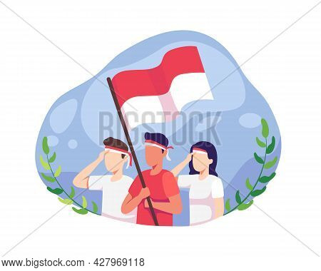 Youth Celebrate Indonesia Independence Day