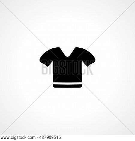 Shirt Icon. Shirt Simple Vector Icon. Shirt Isolated Icon.
