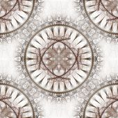 Seamless tileable background for wallpapers high resolution light colors compass dial fractal pattern poster