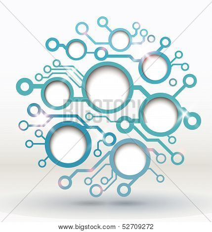 Vector infographic element