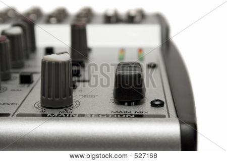 Mixing Desk (Close View)