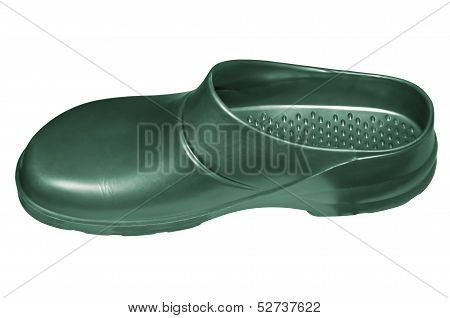Green galosh