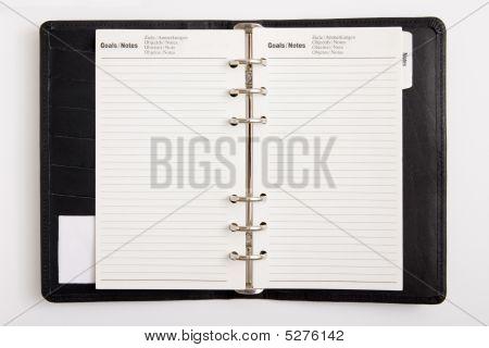 Blank Business Agenda
