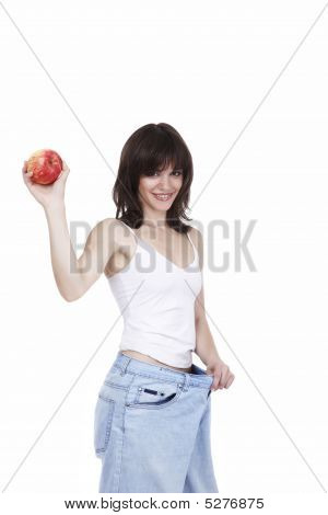 Apples Will Rescue Your Waist