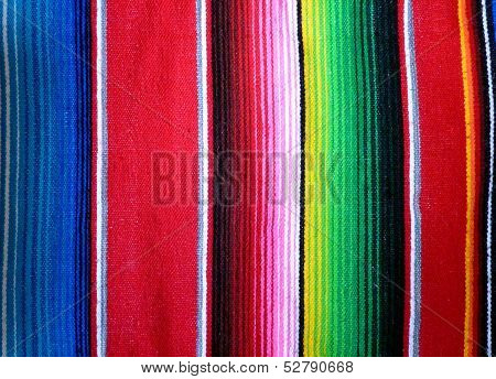 Mexican Poncho Background
