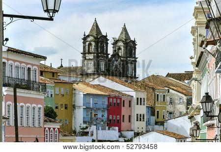 Brazil, Salvador De Bahia, Pelourinho