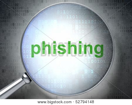 Safety concept: Phishing with optical glass