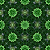green pattern background poster