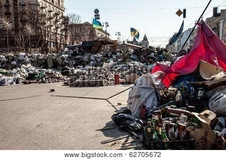 Dignity Revolution In Kyiv, Ukraine
