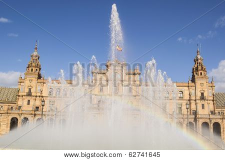 Fount of Spain´s Square (Seville, Spain)