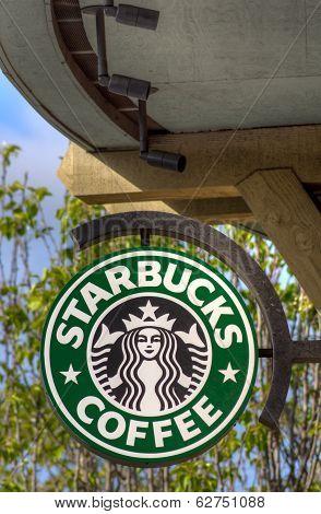 Starbucks Coffee Sign