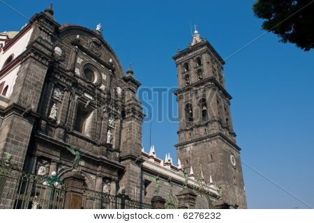 Puebla Old Town Church