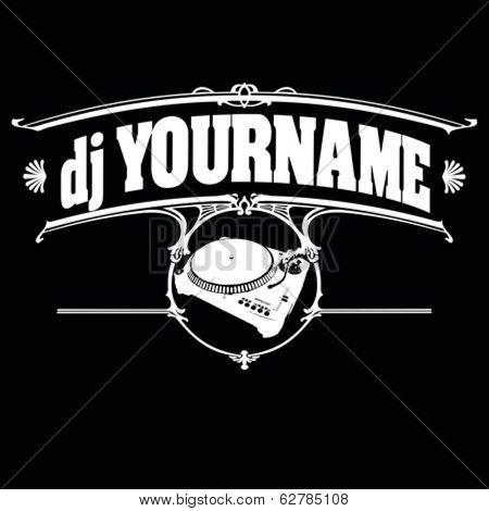 Vintage DJ Label