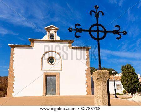 Javea Ermita del Calvari Calvario at Xabia Alicante in Spain