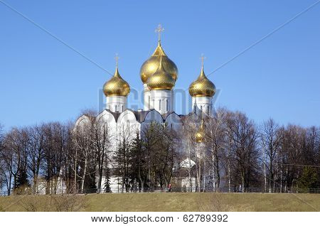 Assumption Cathedral. Yaroslavl, Russia