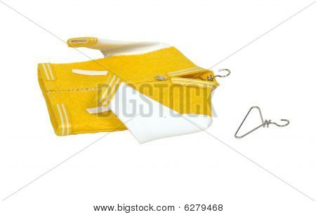 Letterman Jacket And Hangers