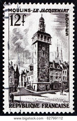 Postage Stamp France 1987 Jacquemart Of Moulins