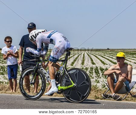 The Cyclist Tom Dumoulin
