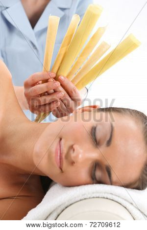 Cabinet of natural medicine - ear candling