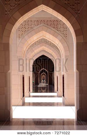 Große Moschee-Flur