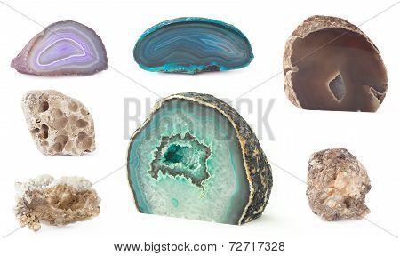 rock set isolated