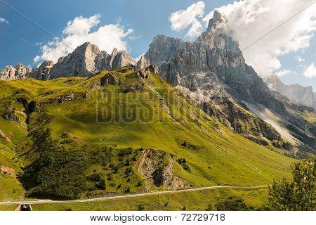 Passo Rolle, Dolomites, Alps, Italy