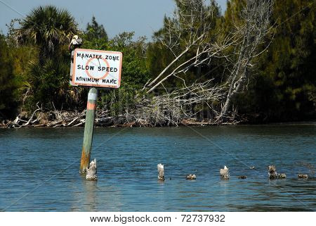 Waterway Sign