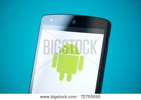 Android Logo On Google Nexus 5