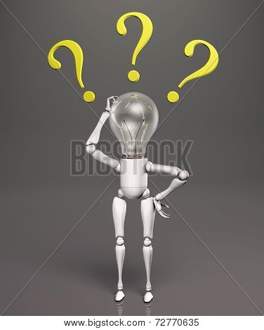 Lamp Character Has No Answers