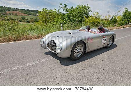 Veritas Comet Rs (1949) Runs In Mille Miglia 2014