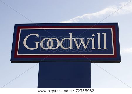 Goodwill Sign