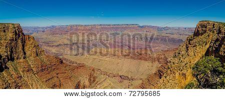 beautiful colorful landscape grand canyon national park arizona panorama poster