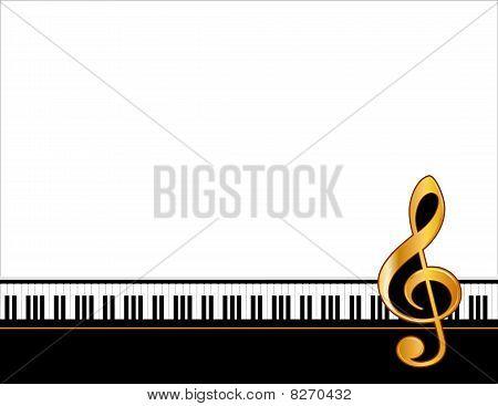 Music Poster, horizontal