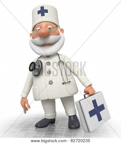 The Doctor With A Portfolio Goes To The Patient