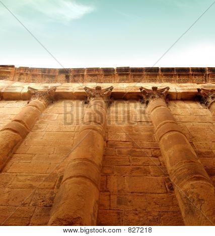 impressive greek wall