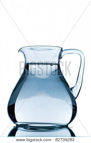 water in a carafe, symbolic photo for drinking water, wealth, supplies and consumables