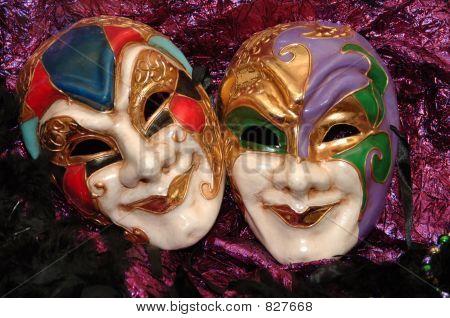 mardigras masks poster