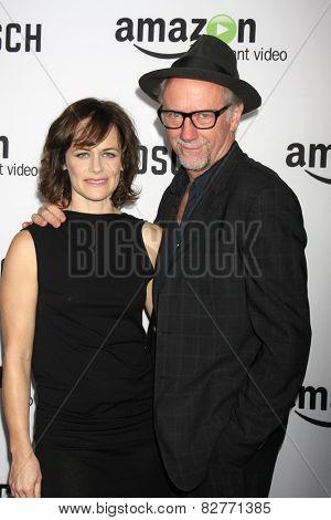 LOS ANGELES - FEB 3:  Xander Berkeley, Sarah Clarke at the